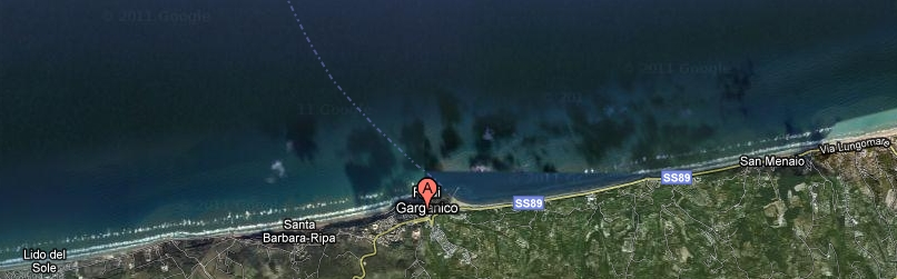 Hotels lungo la costa di Rodi Garganico
