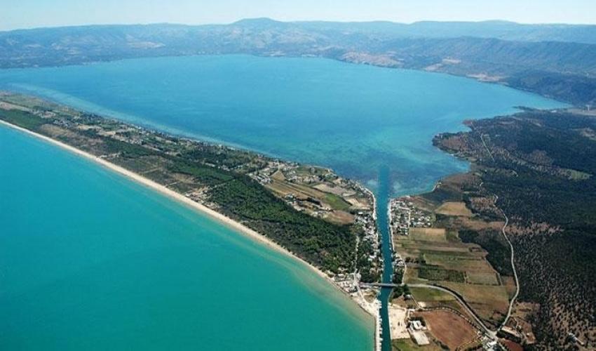 Lago di Lesina e Varano Gargano Puglia  Italia